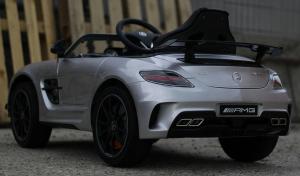 Masinuta electrica Mercedes SLS AMG PREMIUM #Silver5