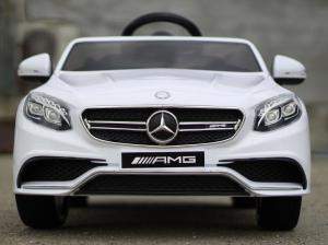 Masinuta electrica Mercedes S63 12V PREMIUM #ALB1