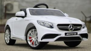 Masinuta electrica Mercedes S63 12V PREMIUM #ALB2