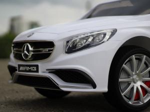 Masinuta electrica Mercedes S63 12V PREMIUM #ALB4