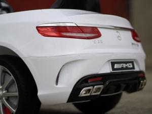 Masinuta electrica Mercedes S63 12V PREMIUM #ALB5