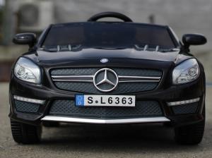 Masinuta electrica Mercedes SL63 AMG STANDARD 12V #Negru1