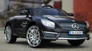 Masinuta electrica Mercedes SL63 AMG STANDARD 12V #Negru2