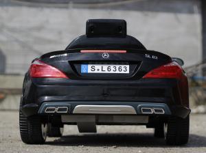 Masinuta electrica Mercedes SL63 AMG STANDARD 12V #Negru3