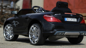 Masinuta electrica Mercedes SL63 AMG STANDARD 12V #Negru4