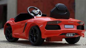 Masinuta electrica Lamborghini Aventador LP 700-4 STANDARD #Portocaliu2