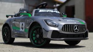 Masinuta electrica copii 2-5 ani Mercedes GT-R gri [2]
