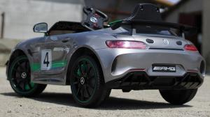 Masinuta electrica copii 2-5 ani Mercedes GT-R gri [4]