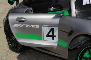 Masinuta electrica copii 2-5 ani Mercedes GT-R gri [5]