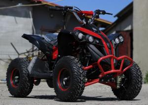 ATV electric NITRO Eco Avenger 1000W 48V 6 inch #Rosu2