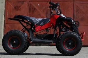 ATV electric NITRO Eco Avenger 1000W 48V 6 inch #Rosu3