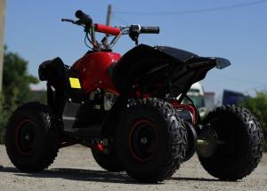 ATV electric NITRO Eco Avenger 1000W 48V 6 inch #Rosu6