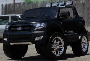 Kinderauto Ford Ranger 4x4 PREMIUM 4x35W #Negru3