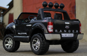 Masinuta electrica copii Ford Ranger F150, negru [4]