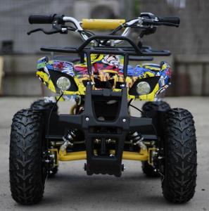 Mini ATV electric pentru copii NITRO Torino Quad 1000W 48V #Galben1