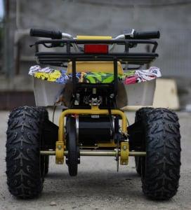 Mini ATV electric pentru copii NITRO Torino Quad 1000W 48V #Galben5