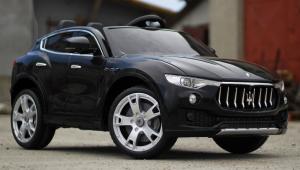 Masinuta electrica Maserati Levante 2x35W STANDARD #Negru2