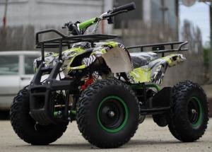 Mini ATV electric pentru copii NITRO Torino Quad 1000W 48V #Verde3
