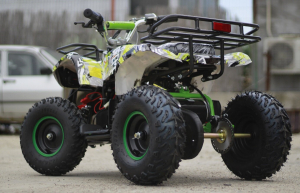 Mini ATV electric pentru copii NITRO Torino Quad 1000W 48V #Verde4