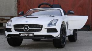 Masinuta electrica Mercedes SLS AMG PREMIUM #ALB4