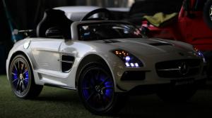 Masinuta electrica Mercedes SLS AMG PREMIUM #ALB5
