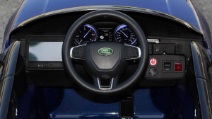 Masinuta electrica Land Rover Discovery DELUXE cu Touchscreen Mp4 #Albastru5