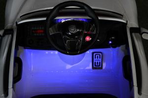 Masinuta electrica Maserati Alfieri CU ROTI MOI 12V 2x35W #Alb4