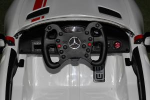 Masinuta electrica Mercedes GT-R 2x25W STANDARD #Alb5