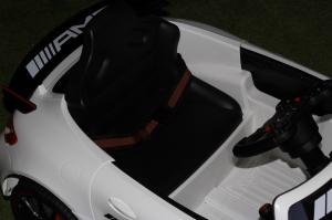 Masinuta electrica Mercedes GT-R 2x25W STANDARD #Alb6