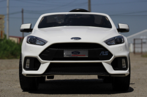 Masinuta electrica Ford Focus RS CU ROTI MOI #Alb1