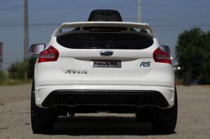 Masinuta electrica Ford Focus RS CU ROTI MOI #Alb3