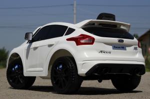 Masinuta electrica Ford Focus RS CU ROTI MOI #Alb4