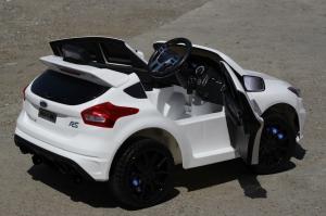 Masinuta electrica Ford Focus RS CU ROTI MOI #Alb5