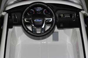 Masinuta electrica Ford Focus RS CU ROTI MOI #Alb6