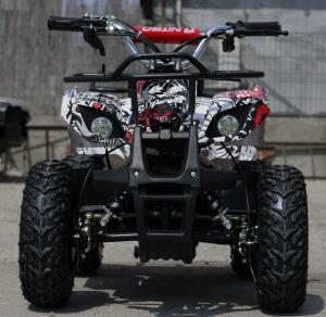 Mini ATV electric pentru copii NITRO Torino Quad 1000W 48V #Alb1