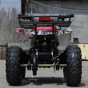 Mini ATV electric pentru copii NITRO Torino Quad 1000W 48V #Alb4