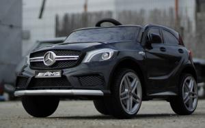 Masinuta electrica Mercedes A45 AMG PREMIUM 12V #Negru2