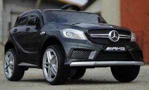 Masinuta electrica Mercedes A45 AMG PREMIUM 12V #Negru3