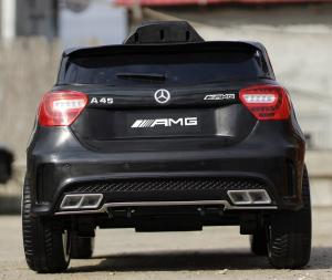 Masinuta electrica Mercedes A45 AMG PREMIUM 12V #Negru4