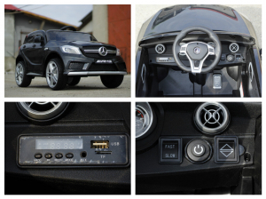 Masinuta electrica Mercedes A45 AMG PREMIUM 12V #Negru7