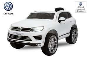 Masinuta electrica VW Touareg CU ROTI MOI 2x 35W 12V #ALB0