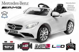 Masinuta electrica Mercedes S63 12V PREMIUM #ALB0