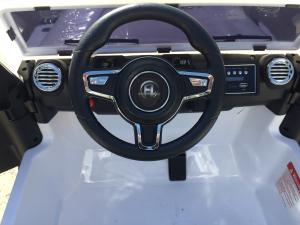 Masinuta electrica copii 2-7 ani Jeep Outdoor, alb [8]