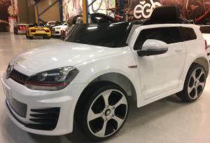 Masinuta electrica VW Golf GTI 2x30W 12V STANDARD #ALB1