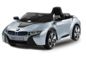 Masinuta electrica copii 2-7 ani BMW i8, albastru [0]