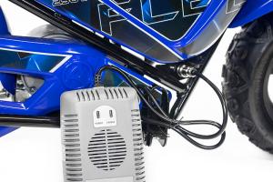 Mini Motocicleta electrica pentru copii NITRO ECO Flee 250W #Albastru4