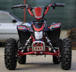 ATV electric Deluxe ECO Maddox 1000W 48V cu 3 Viteze #Rosu1