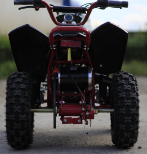 ATV electric Deluxe ECO Maddox 1000W 48V cu 3 Viteze #Rosu5
