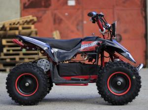 ATV electric Deluxe ECO Maddox 1000W 48V cu 3 Viteze #Rosu3