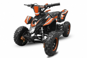ATV electric Deluxe ECO Maddox 1000W 48V cu 3 Viteze #Orange0